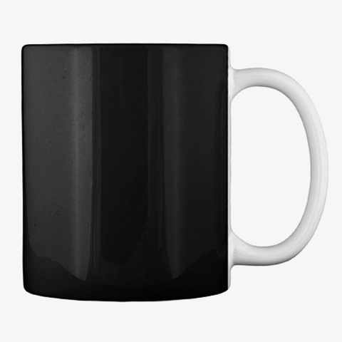 Be Careful!! Black Mug Back