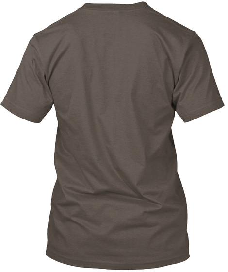 Casefile Male Light (Aa Triblend) Coffee T-Shirt Back