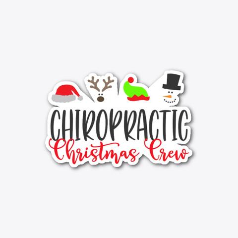 Christmas Chiropractor, Chiropractic Standard T-Shirt Front