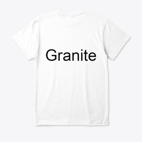 Granite Male Enhancement.Where To Buy? White T-Shirt Back