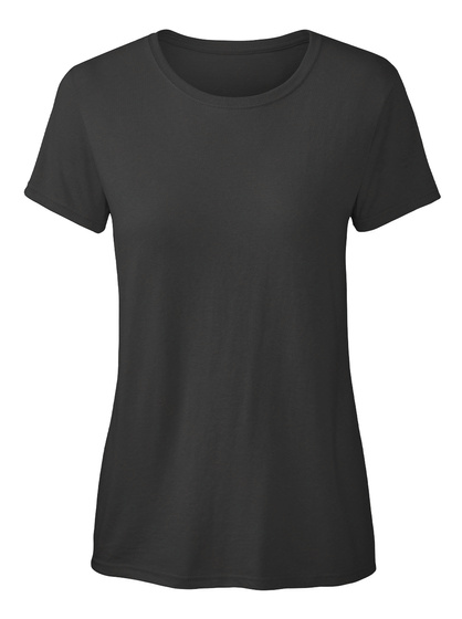 I Love Rowing! Black T-Shirt Front