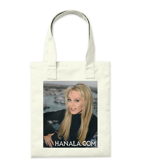 Hanala.Com Natural T-Shirt Back