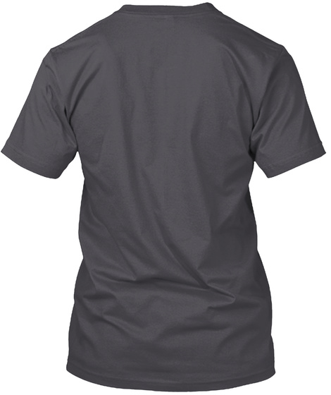 Dad Bod Asphalt T-Shirt Back