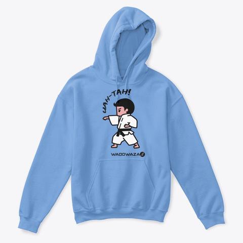 Uah Tah! For Boys By Wado Waza Carolina Blue T-Shirt Front