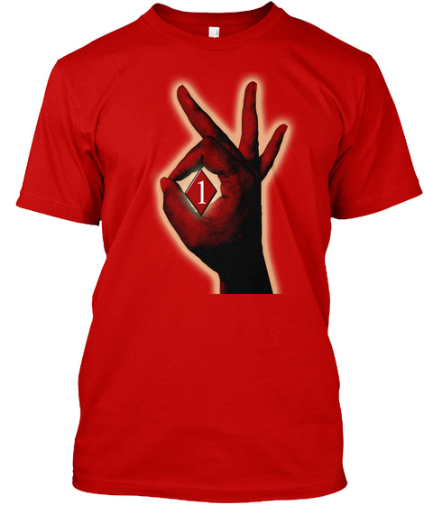 1 Classic Red T-Shirt Front