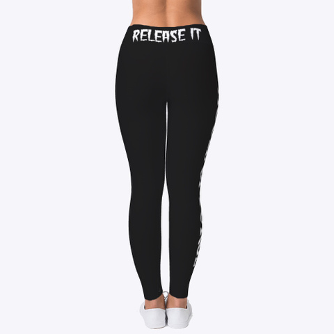 House Of Purge  Tights Black T-Shirt Back