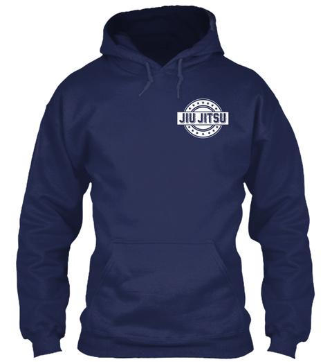 Jiu Jitsu Navy Sweatshirt Front