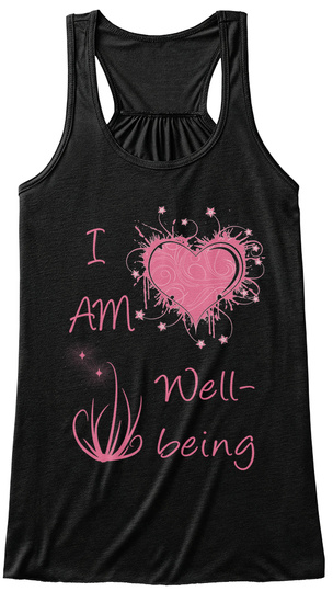 I  Am   Well  Being Black Women's Tank Top Front