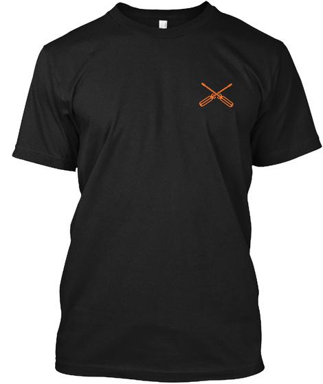 Awesome Hvac Tech Shirt Black T-Shirt Front