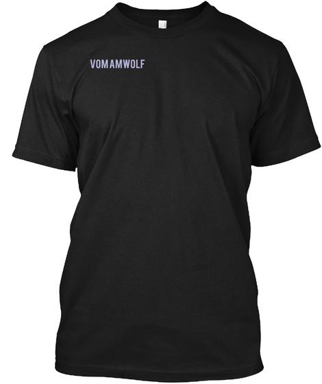Vomamwolf Black T-Shirt Front