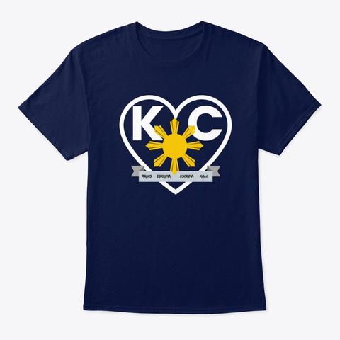 N/A Navy T-Shirt Front