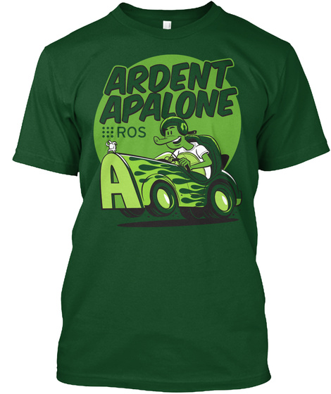 Ardent Apalone  Ros Deep Forest T-Shirt Front