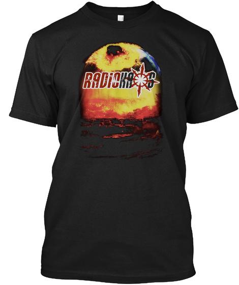Radio Kaos Apocalypse Black T-Shirt Front