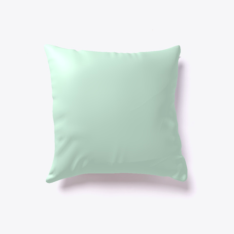 Pillow  Mint Kaos Back