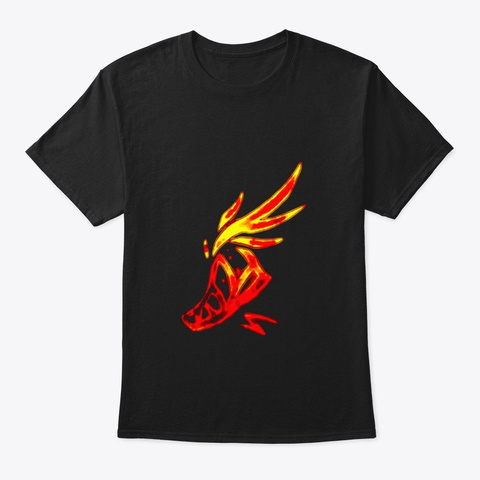 Lol Fleet Black T-Shirt Front
