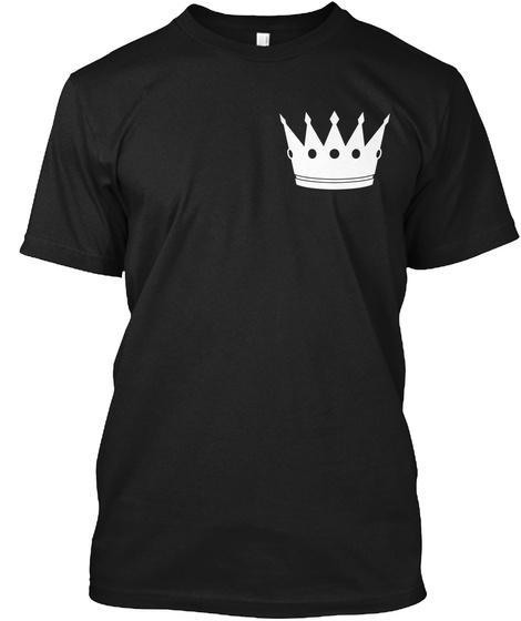 Cruzko Black T-Shirt Front
