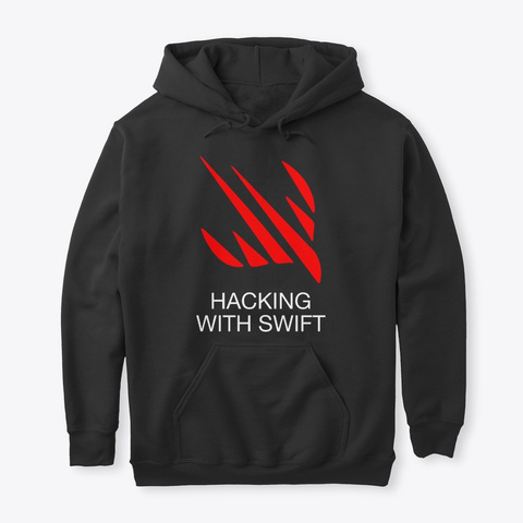 Hoodie Of Truth (Black) Black T-Shirt Front