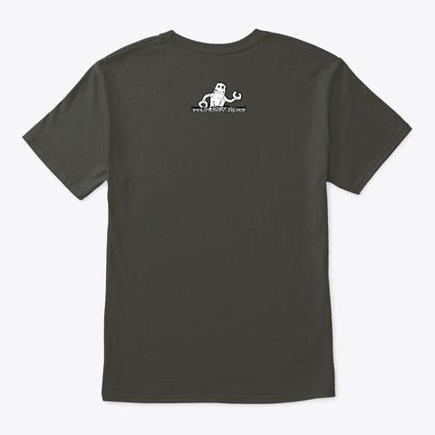 Keytar Robot Smoke Gray T-Shirt Back