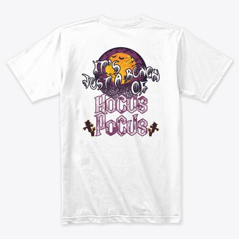 Happy Halloween Tees White T-Shirt Back