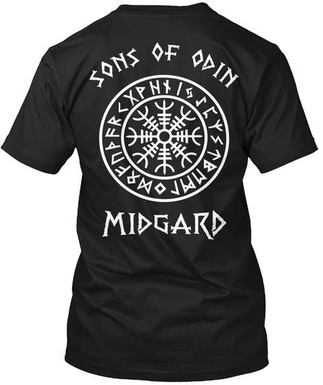 9d6c539a Sons of Odin Ægishjálmr, Viking T-Shirts