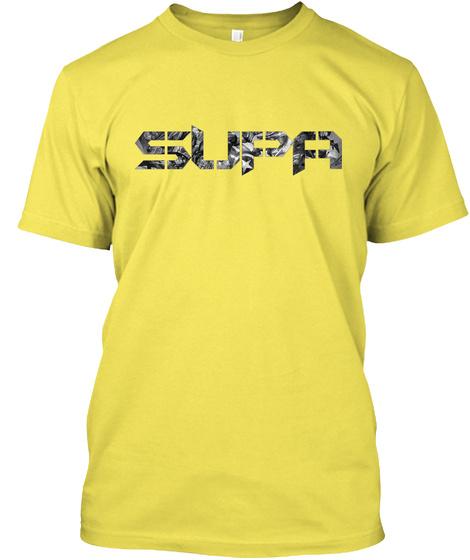 Supa On Beam.Pro Exellion Mod Shirt Yellow T-Shirt Front