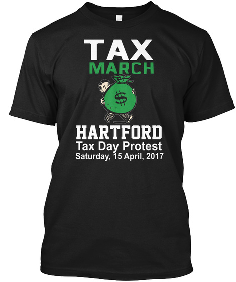 Hartford Black T-Shirt Front