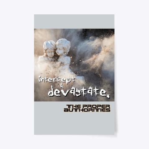 Intercept And Devastate: To The End Light Grey Maglietta Front