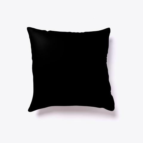 Rocky Mountain Pillow Black T-Shirt Back