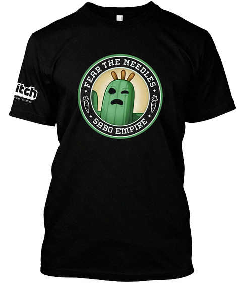 Fear The Needles Sabo Empire Black T-Shirt Front