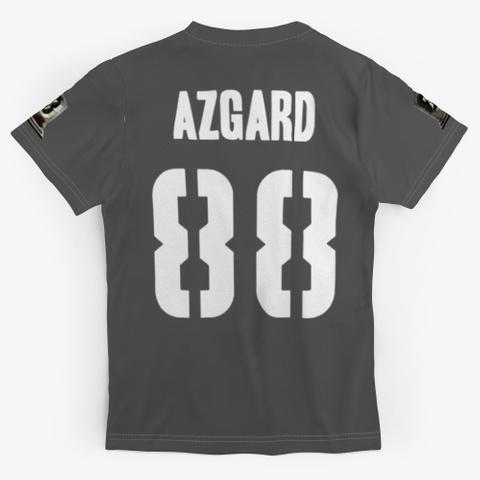 Azgard Music Merch Charcoal T-Shirt Back