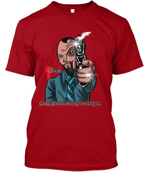 Torres Http:/Mctortorres Nrtblogspot.Com Deep Red T-Shirt Front