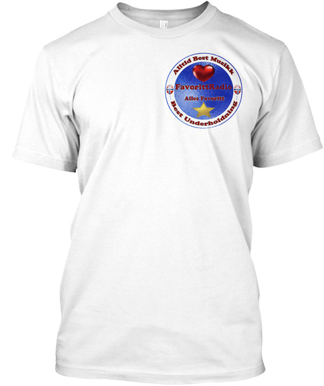 Favorittradio White T-Shirt Front