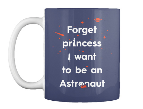 Forget Princess 3 Mug [Usa] #Sfsf Dk Navy Mug Front