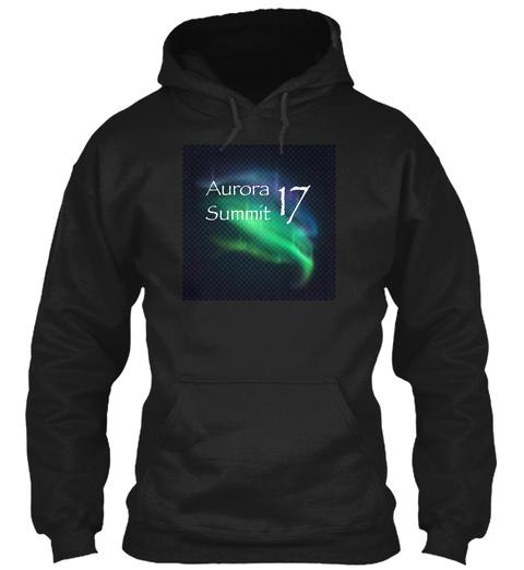 Aurora Summit 17 Black Sweatshirt Front