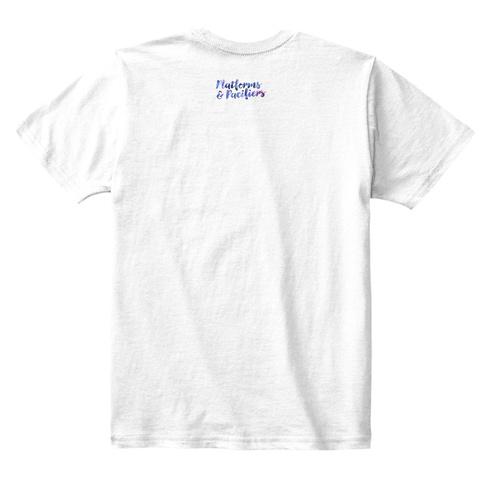Flower Child (Mommy&Amp;Me) White T-Shirt Back