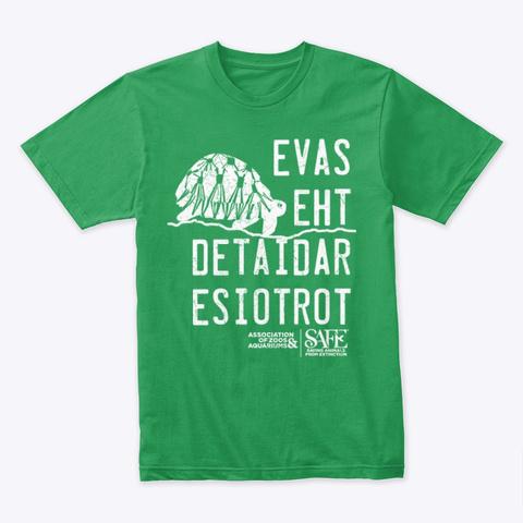 Evas Eht Detaidar Esiotrot Shirts Kelly Green T-Shirt Front