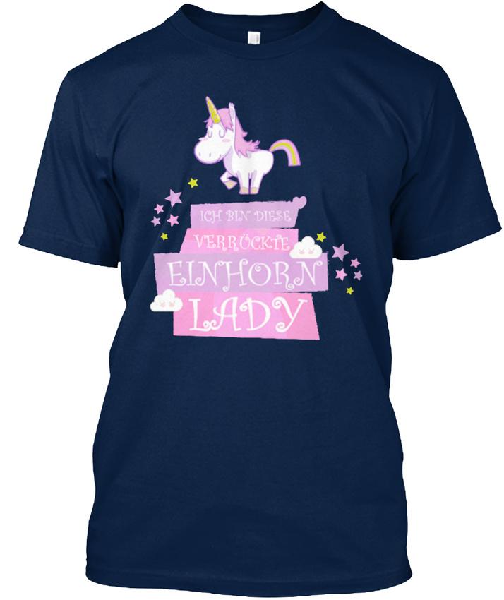 Einhorn-Unicorn-Sus-T-shirt-Elegant