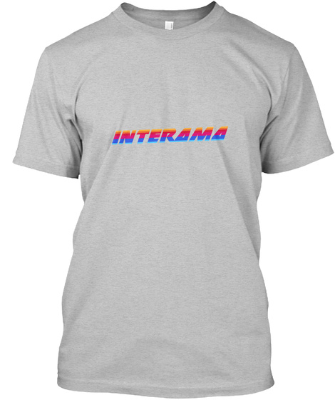 Interama (Tees + Colors) Light Heather Grey  T-Shirt Front