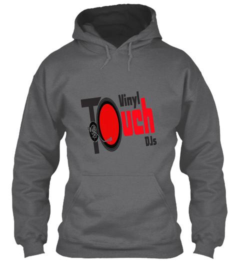 Vinyl T Ouch D Js Dark Heather Sweatshirt Front