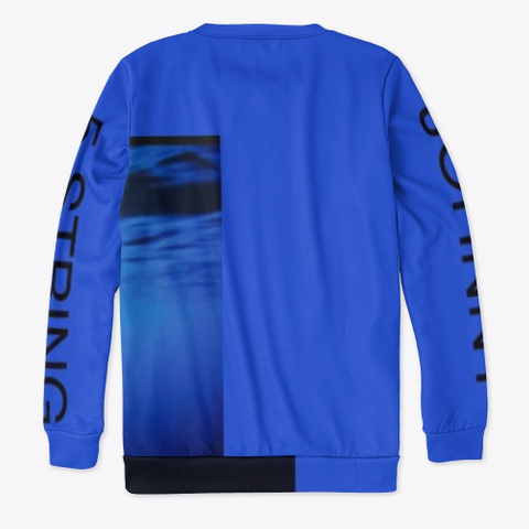 Johnny 5 String   Underwater  Royal Blue T-Shirt Back