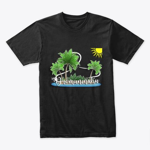 Vulavula Black T-Shirt Front