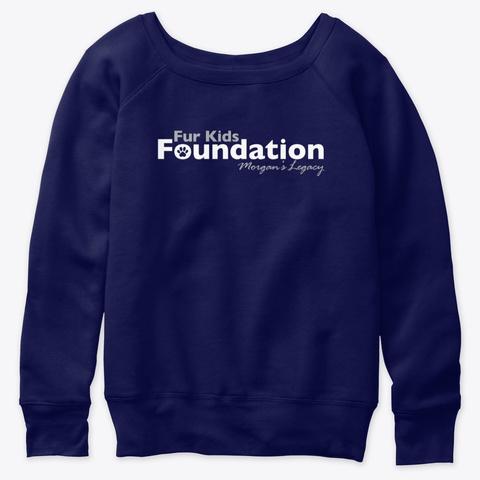 Fur Kids Foundation Gear Navy  T-Shirt Front
