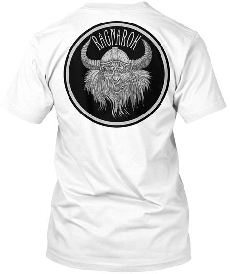 Ragnarok White T-Shirt Back
