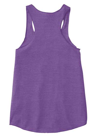 Kawaii Die Die Die Tank Eco True Purple  T-Shirt Back