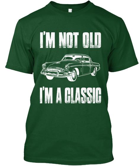 b32e2f1a I'm A Classic Car Funny Hobby - I'm not old I'm classic Products ...