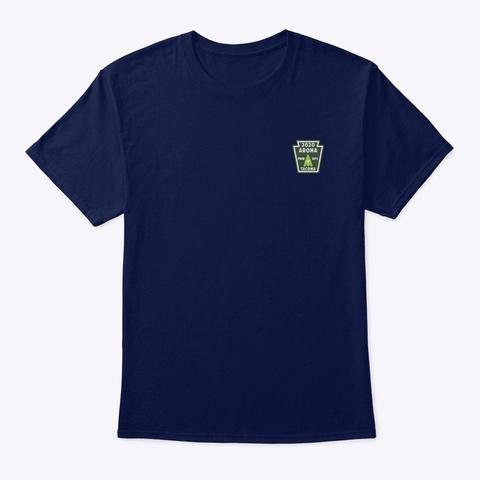 Aroma Of Tacoma Nps T Shirt No.4 Navy T-Shirt Front
