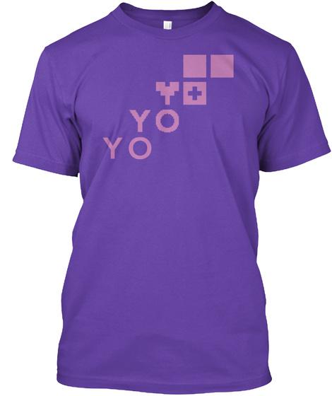 Yo Resolution Lavender Purple Purple Rush T-Shirt Front