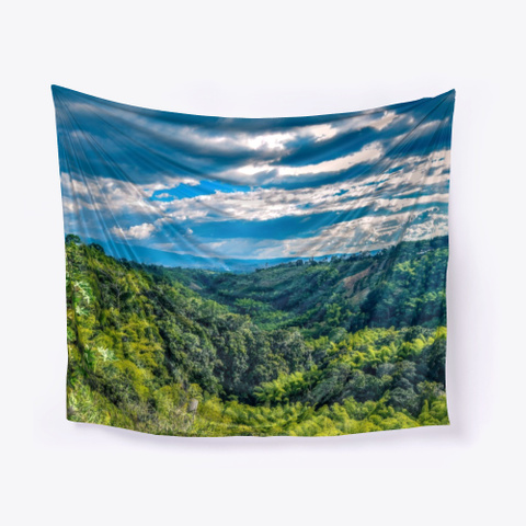 Quindio Armenia Colombia Nature Green White T-Shirt Front
