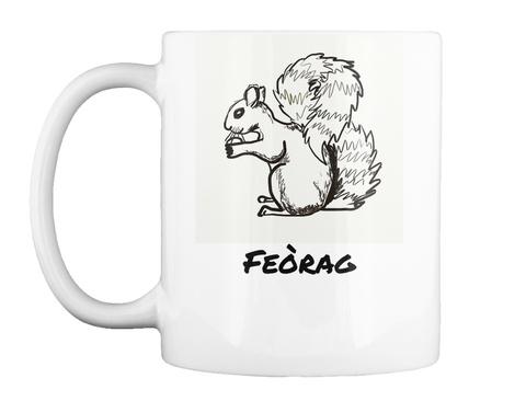 Feòrag White Mug Front