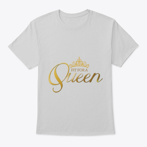 Fit For A Queen Light Steel T-Shirt Front
